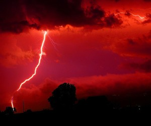red and storm image