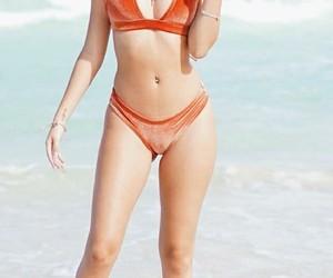 bikini, swimsuit, and swimwear image