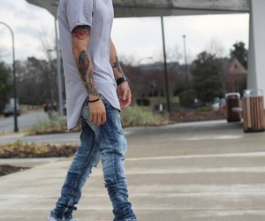 street style, streetwear fashion, and yeezys image