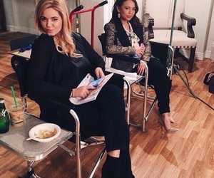 pretty little liars, sasha pieterse, and janel parrish image