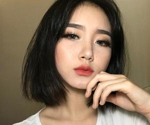 girl, asian, and korean image