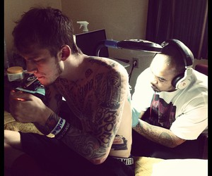 tattoo, mgk, and machine gun kelly image