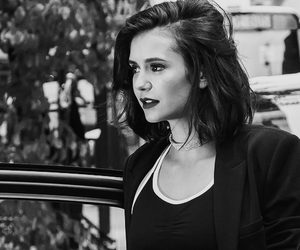 Nina Dobrev, celebrity, and the vampire diaries image