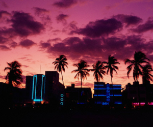 paradise, pink, and sky image