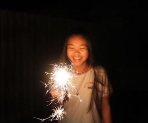aesthetic, photography, and sparklers image