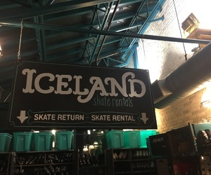 iceland, rental, and skating image
