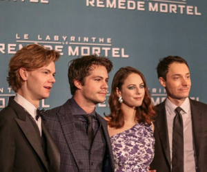 KAYA SCODELARIO, dylan o'brien, and the death cure image