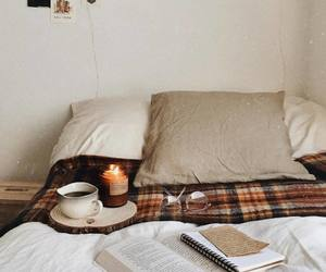 candle, cozy, and bedroom image