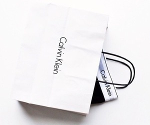 Calvin Klein, white, and style image