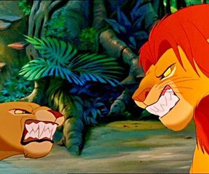 disney, the lion king, and el rey leon image