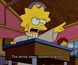 simpsons, lisa, and quotes image