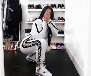fashion, white, and mirror image