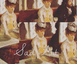 art, arte, and tristeza image