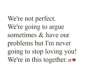argue, couple, and problems image