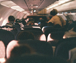 airplane, vintage, and photography image