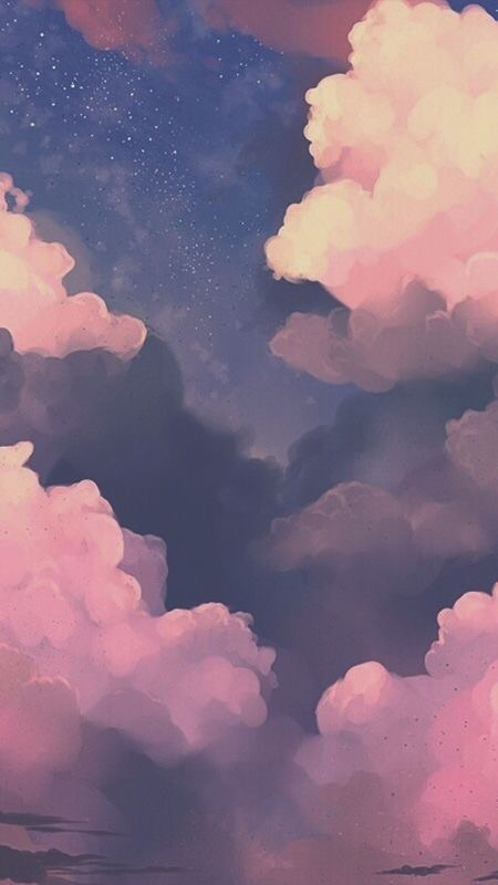 Colorful Cloud Phone Wallpaper Background Uploaded By Mariah