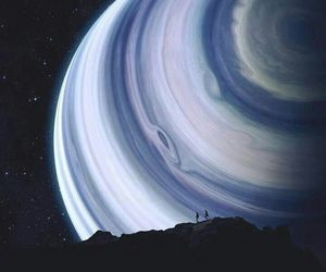 planet, adventure, and art image
