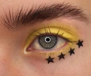 yellow, eyes, and girl image