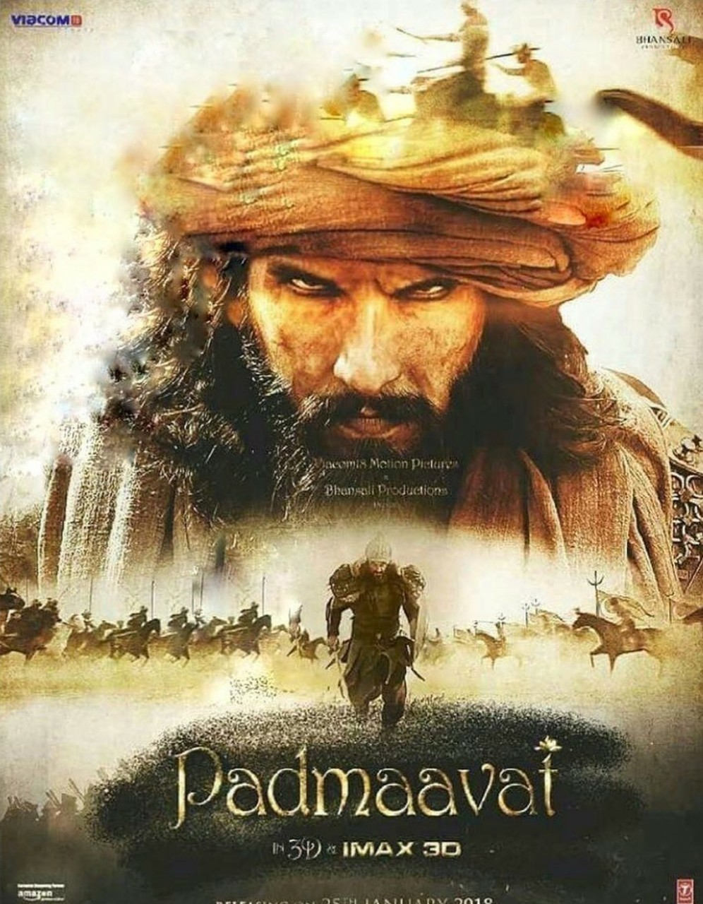 bollywood, padmaavat, and cinema image