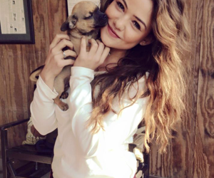 danielle campbell, The Originals, and dog image