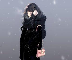 anime, anime girl, and sketch image