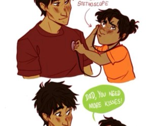 percy jackson, will solace, and pjo image