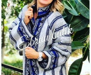 blue, clothers, and etnik image