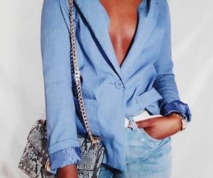 blazer, chic, and fashion image