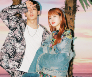lisa, blackpink, and bobby image