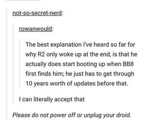 droids, headcanon, and r2d2 image