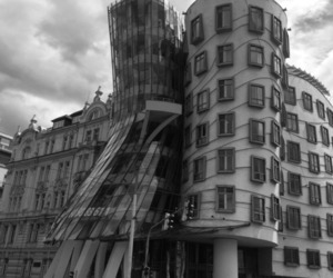 architecture, blak and white, and art image
