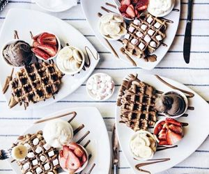 chocolate, morning, and sweet image