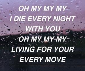 aesthetic, Lyrics, and purple image