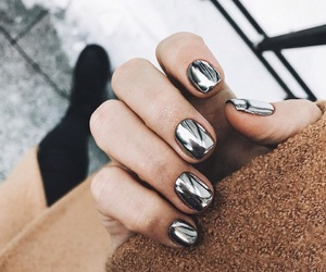 beautiful, silver, and fashion image