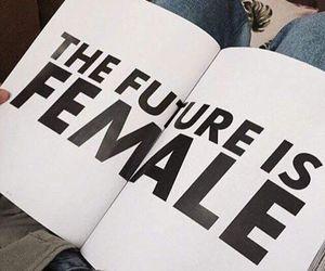 girl, female, and feminism image