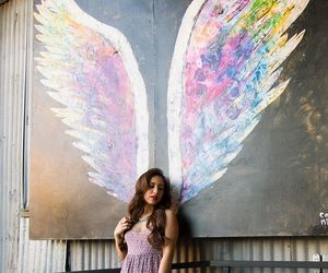 angel, fashion, and paint image