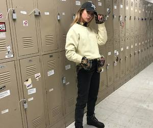 college, fashion, and girl image