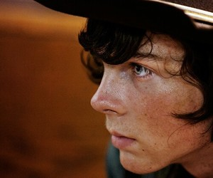 twd, carl grimes, and the walking dead image