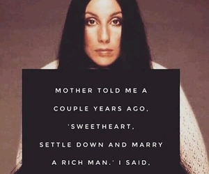 quotes, women, and cher image