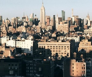 architecture, landscape, and ny image