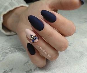 dark, fashion, and nails image