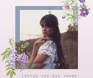 camila, flowers, and soft image