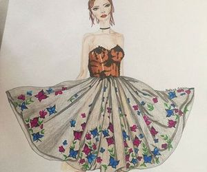 butterfly, style, and dress image