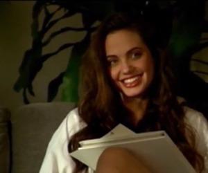girl, Angelina Jolie, and book image