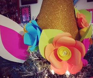celebrate, festive, and floral image