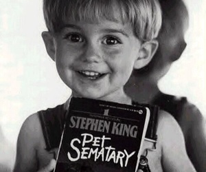 Stephen King, pet sematary, and book image