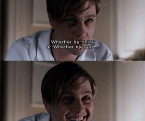 funny games, michael pitt, and movie image