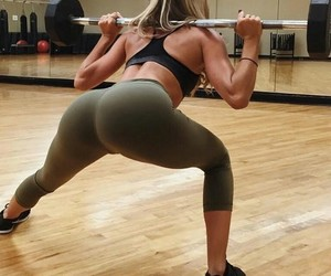 booty, lifting, and fit image