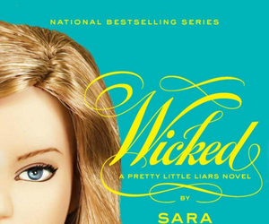 book, wicked, and sara shepard image