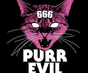 666, art, and cat image